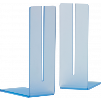 Book End Style Sign Holders Perspex (ALP2)
