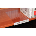 Movable Shelf Label Holders