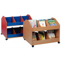 Double-sided Mobile Classroom Organiser