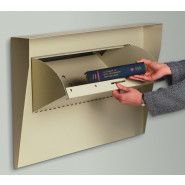All Weather Built-in Lockable Book Return