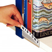 Front-opening Shelf Label Holders