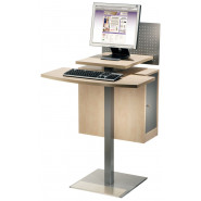 OPAC Terminal Stand
