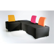 Granat Chair and Pouffe
