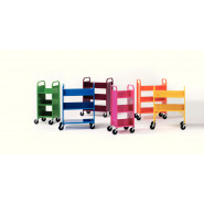 Demco® LibraryQuiet™ Book Trolleys