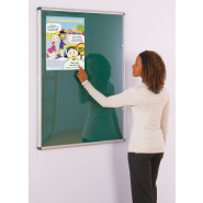 Tamperproof Noticeboards - Traditional Colours