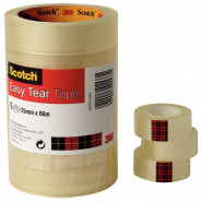 Scotch® Easy Tear Clear Tape