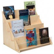 Plywood Four-tier Displayer