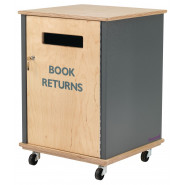 Side Fed Indoor Book Return
