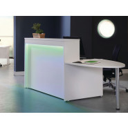 Welcome Reception Counter with D-end Table