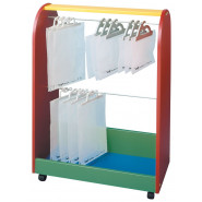 Two Tier Hanging Bag Trolley