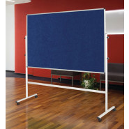 Eco-Colour™ Resist-a-Flame® Mobile Noticeboards