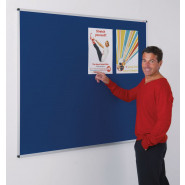 Aluminium Framed Noticeboards - Traditional Colours
