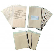 Self-adhesive Book Pockets