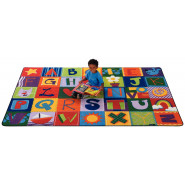 Toddler Alphabet Blocks Carpets