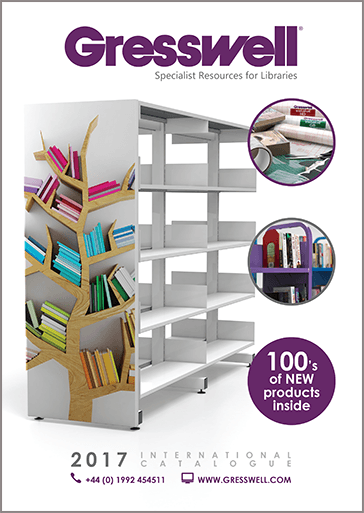 Gresswell Library supplies International Catalogue 2017
